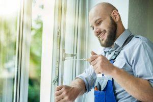 Aluminum window repair