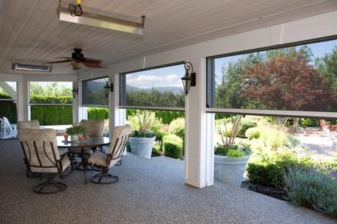 Retractable Outdoor Screens